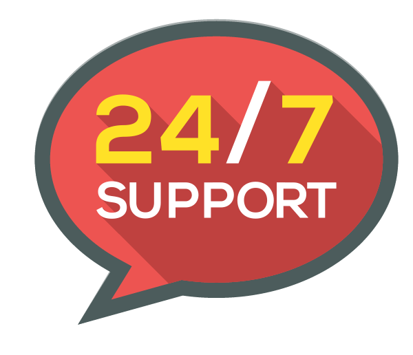 Contact 24-7 Support
